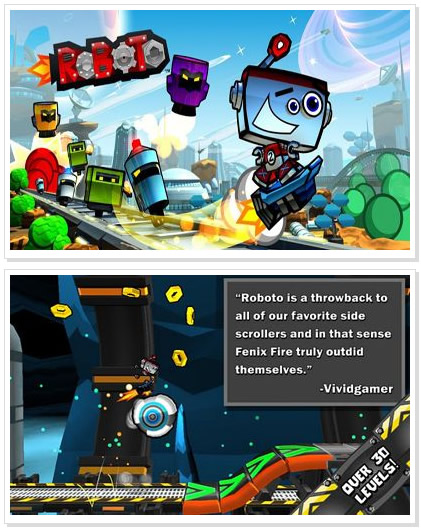 Android Game : Roboto HD