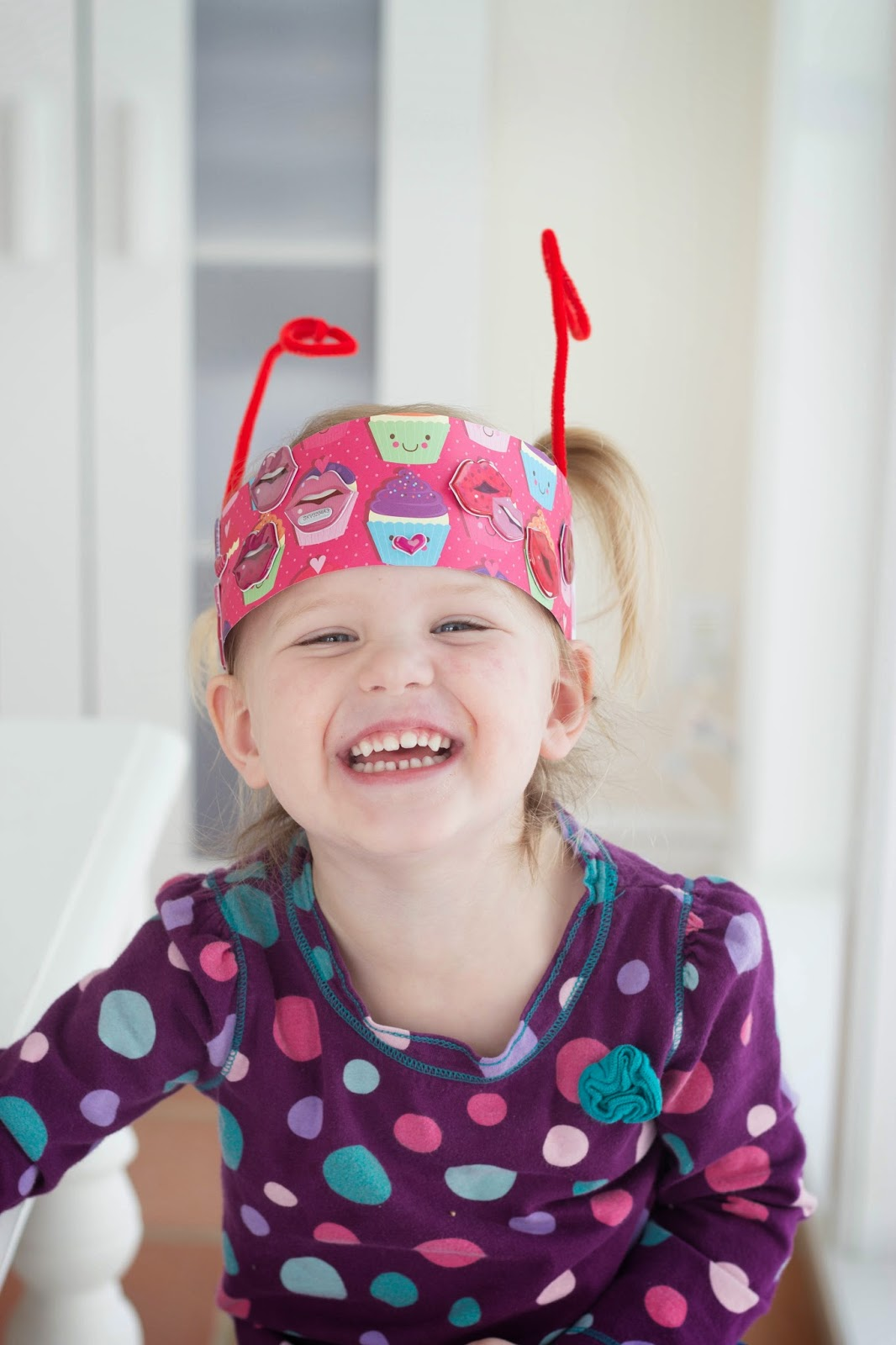 do it yourself divas: Love Bug Hats for Valentines Day