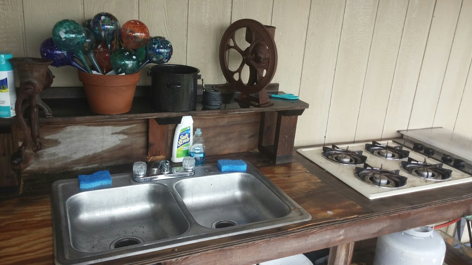 Outdoor Canning Kitchen Modern Day Redneck Full Time