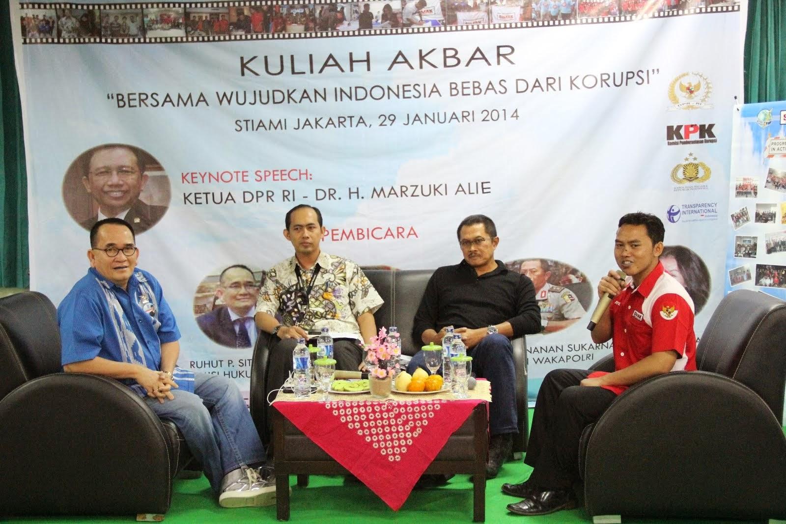 Untuk Indonesia Tanpa Korupsi