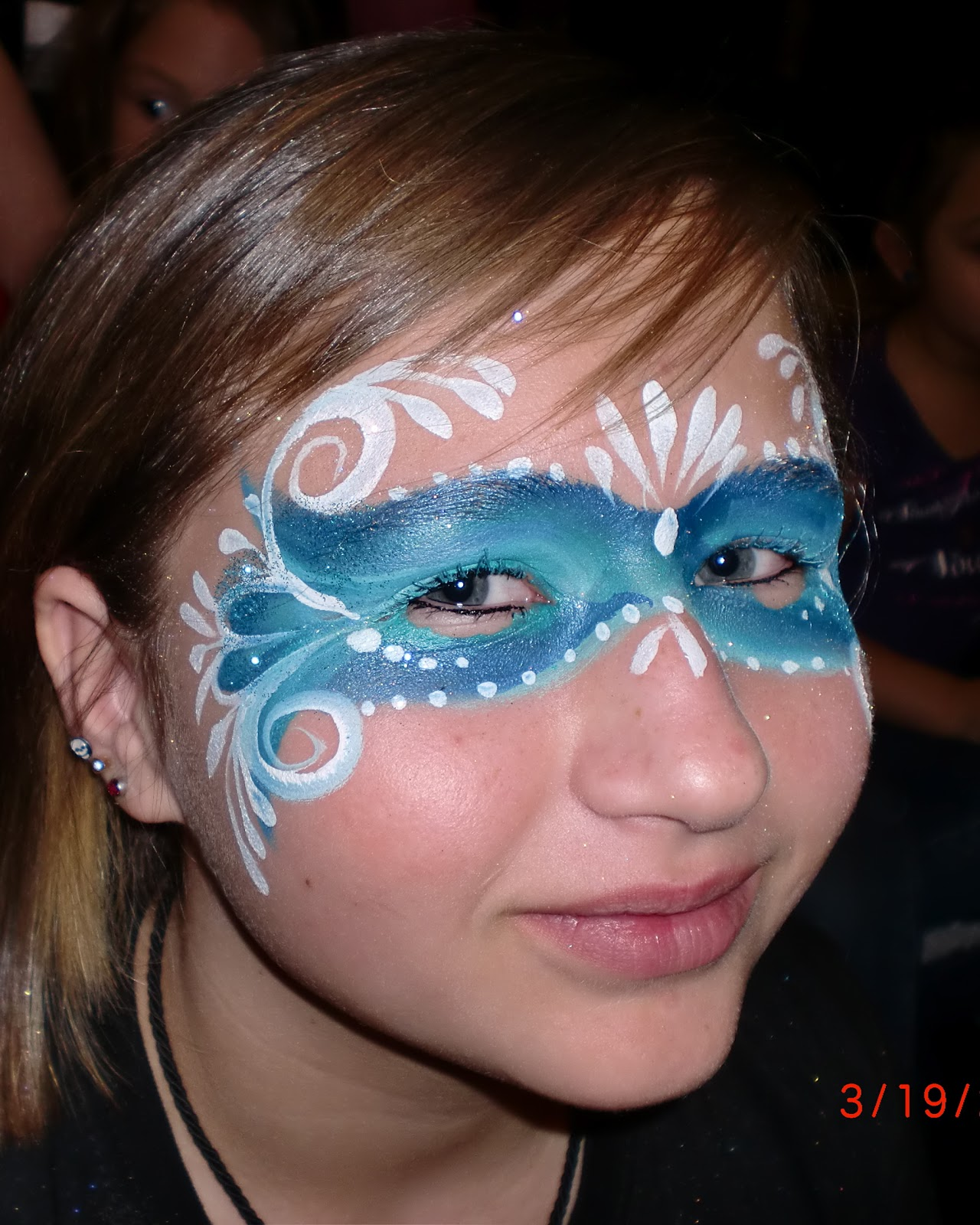 face painting illusions and balloon art llc eye design