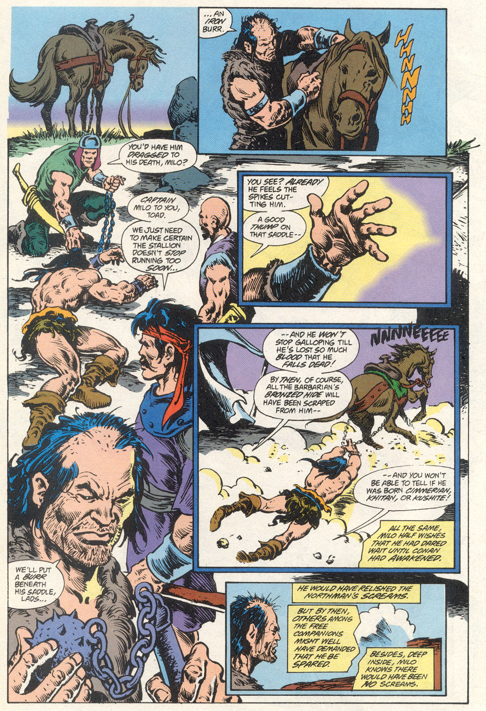 Conan the Barbarian (1970) Issue #275 #287 - English 16