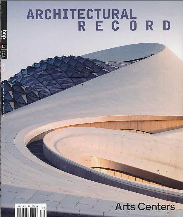 Architectural Record Magazine features Casa J