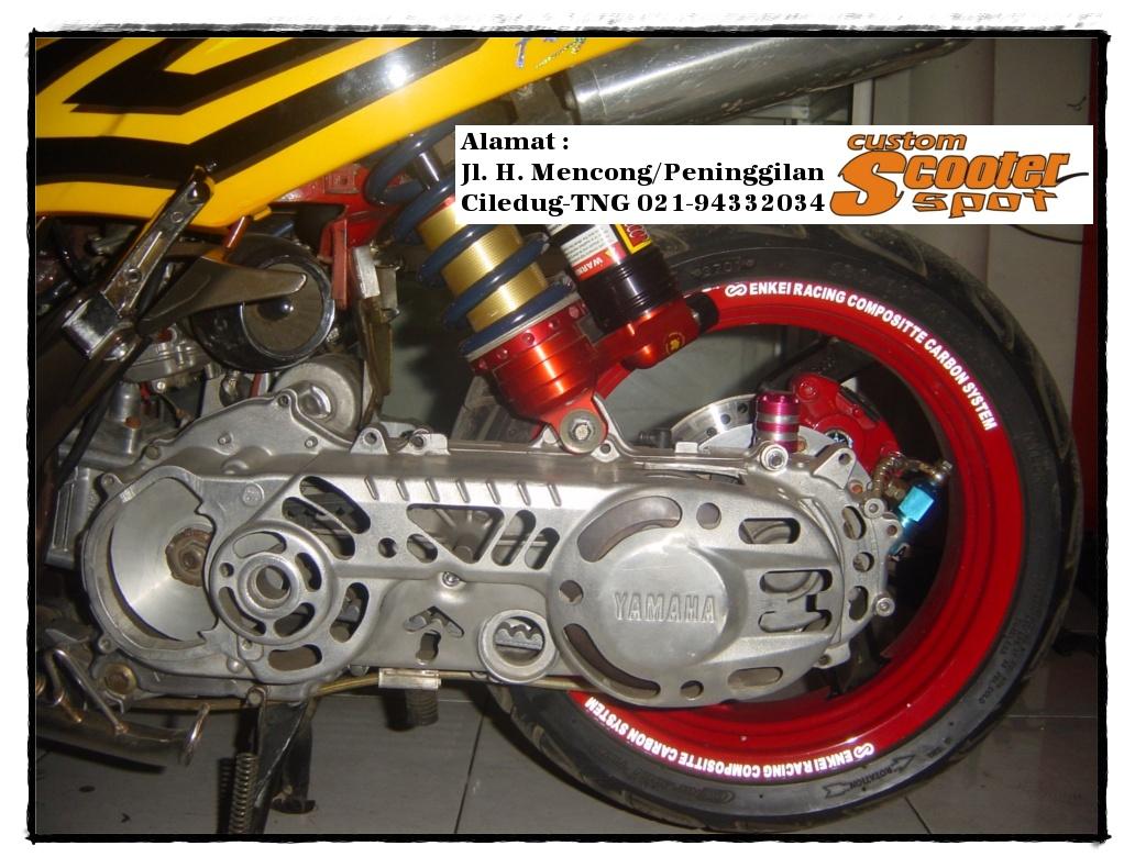 Contoh Gambar Modifikasi Motor Matic yang terbaru! title=