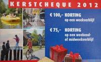 www.landal.nl/ker12l kerstcheque 50 euro korting waardebon kerstpakket