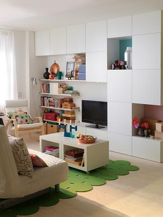 10 consejos para decorar salones peque os for Muebles de salon pequenos