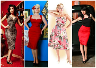 Vestidos de Pin Up