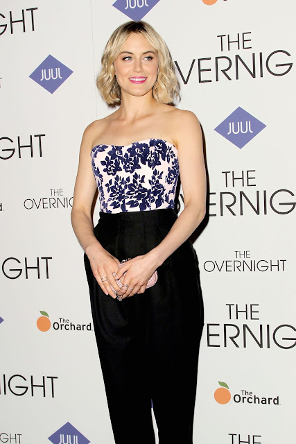Actress @ Taylor Schilling The Overnight Premiere In New York