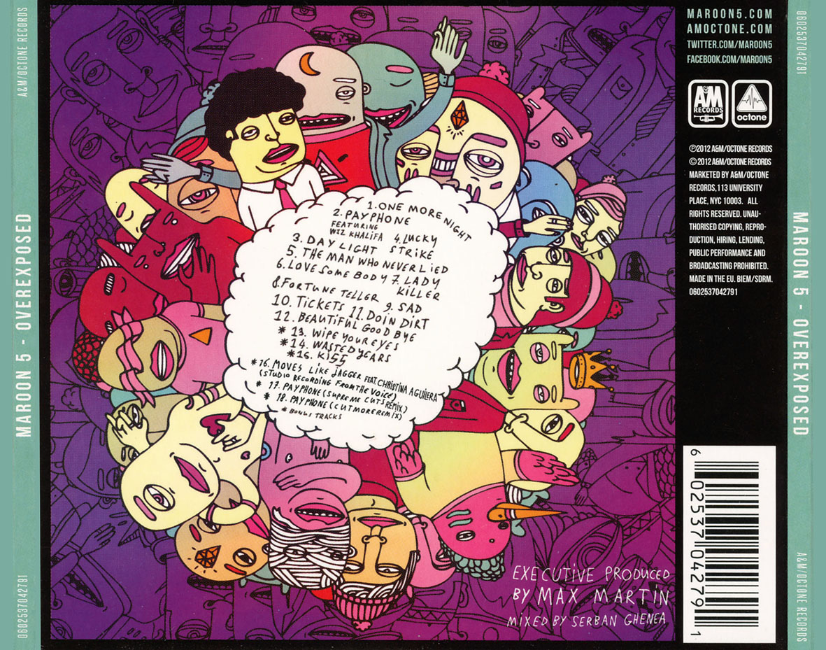 Click en play  escucha y disfrutaOverexposed Maroon 5 Deluxe Edition
