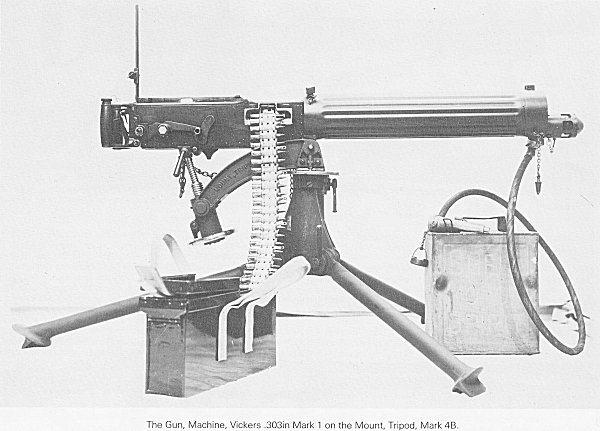 world war one machine gun