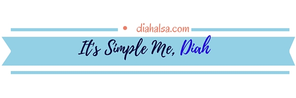 it's simple me, diah