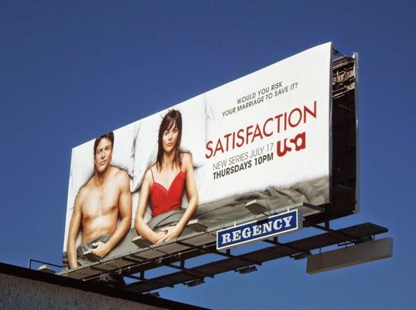 Satisfaction season 1 launch billboard