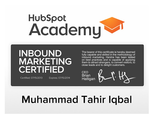 Online Marketing Certification