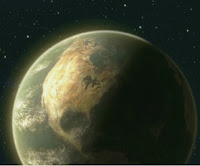 Wall-E Earth's Atmosphere full of satellites dirty space ugly view of the world