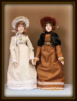 Meet Emily and Esther - My Regency Era Dolls
