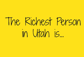 Have you ever wondered who the richest Utahan is? The Richest Person in Utah is...