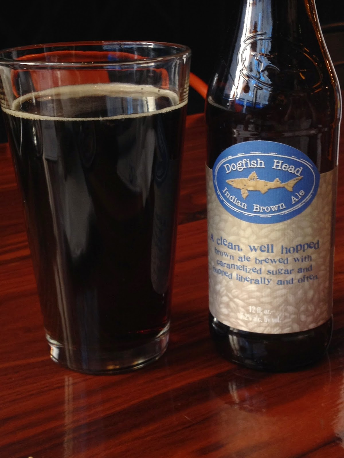 Indian Brown Ale by Dogfish Head Brewery