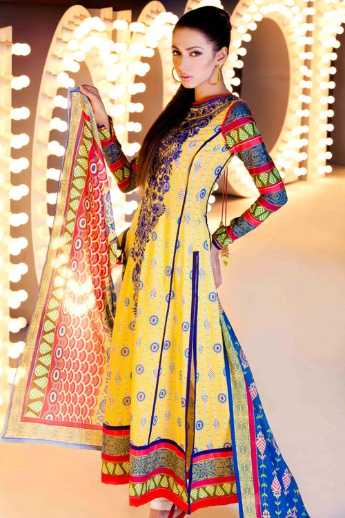 Lawn Prints Collection 2011 by Nomi Ansari