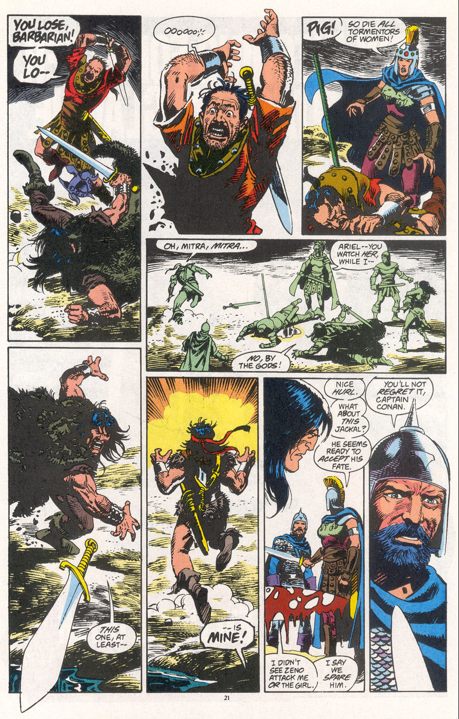 Conan the Barbarian (1970) Issue #266 #278 - English 16