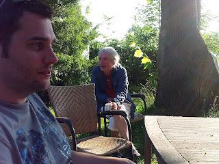 Gandalf & son : Christian Strobl et Gandalf à Lindlar / photo S. Mazars