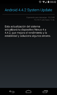 Novedades Android 4.4.2, todas las novedades android 4.4.2, ota android 4.4.2