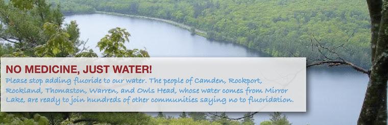 Fluoride Free Mid-Coast Maine