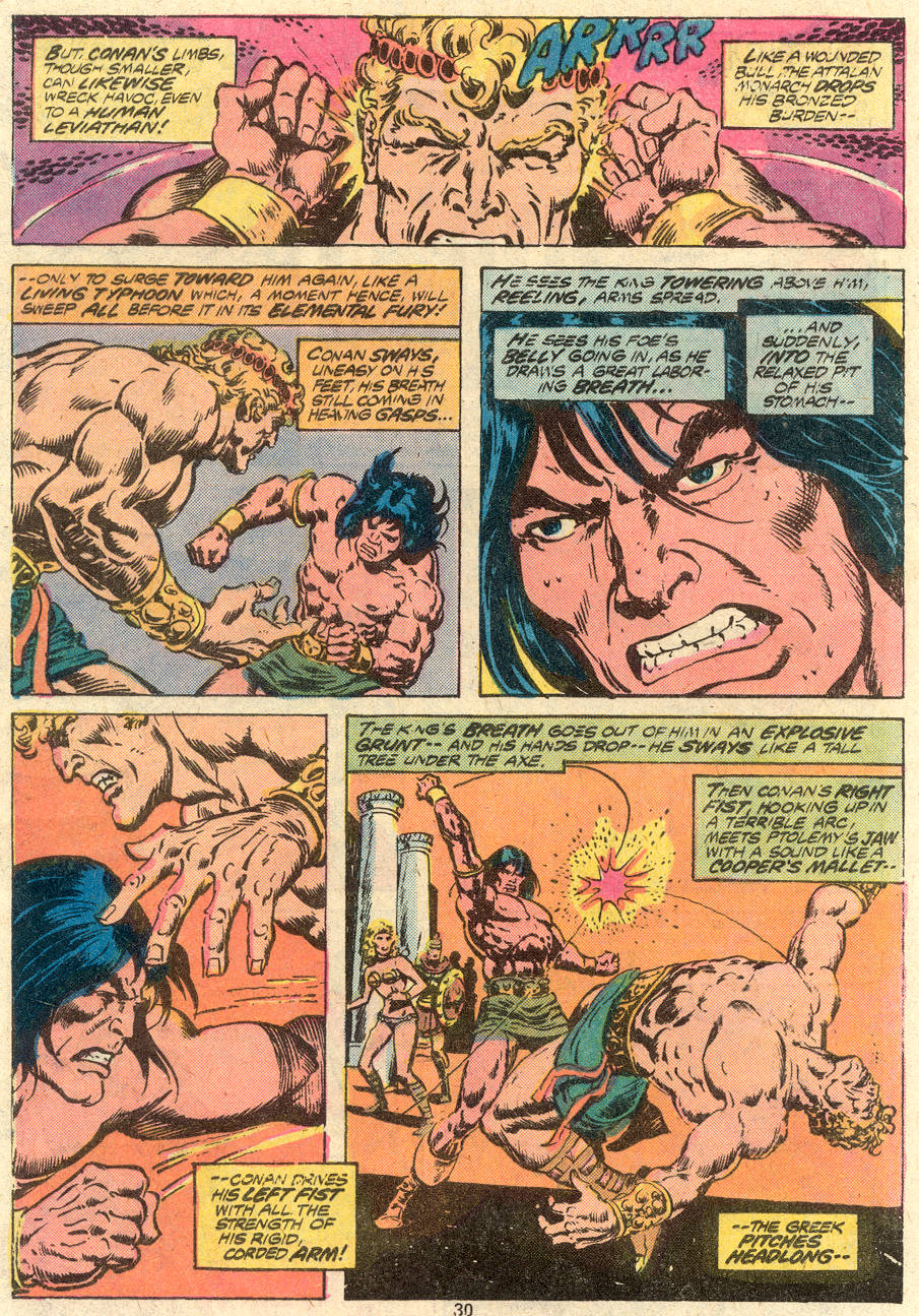Conan the Barbarian (1970) Issue #80 #92 - English 17