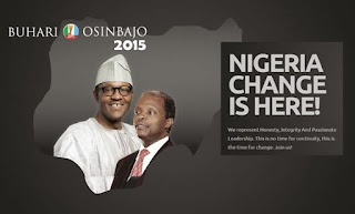 Buhari and Osinbajo - APC Change Agent