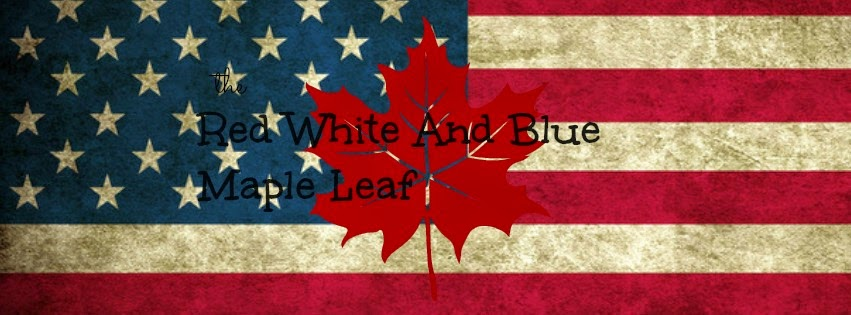 The Red White and Blue Maple Leaf