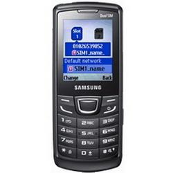 Samsung E1252 dual SIM phone is very budget-friendly