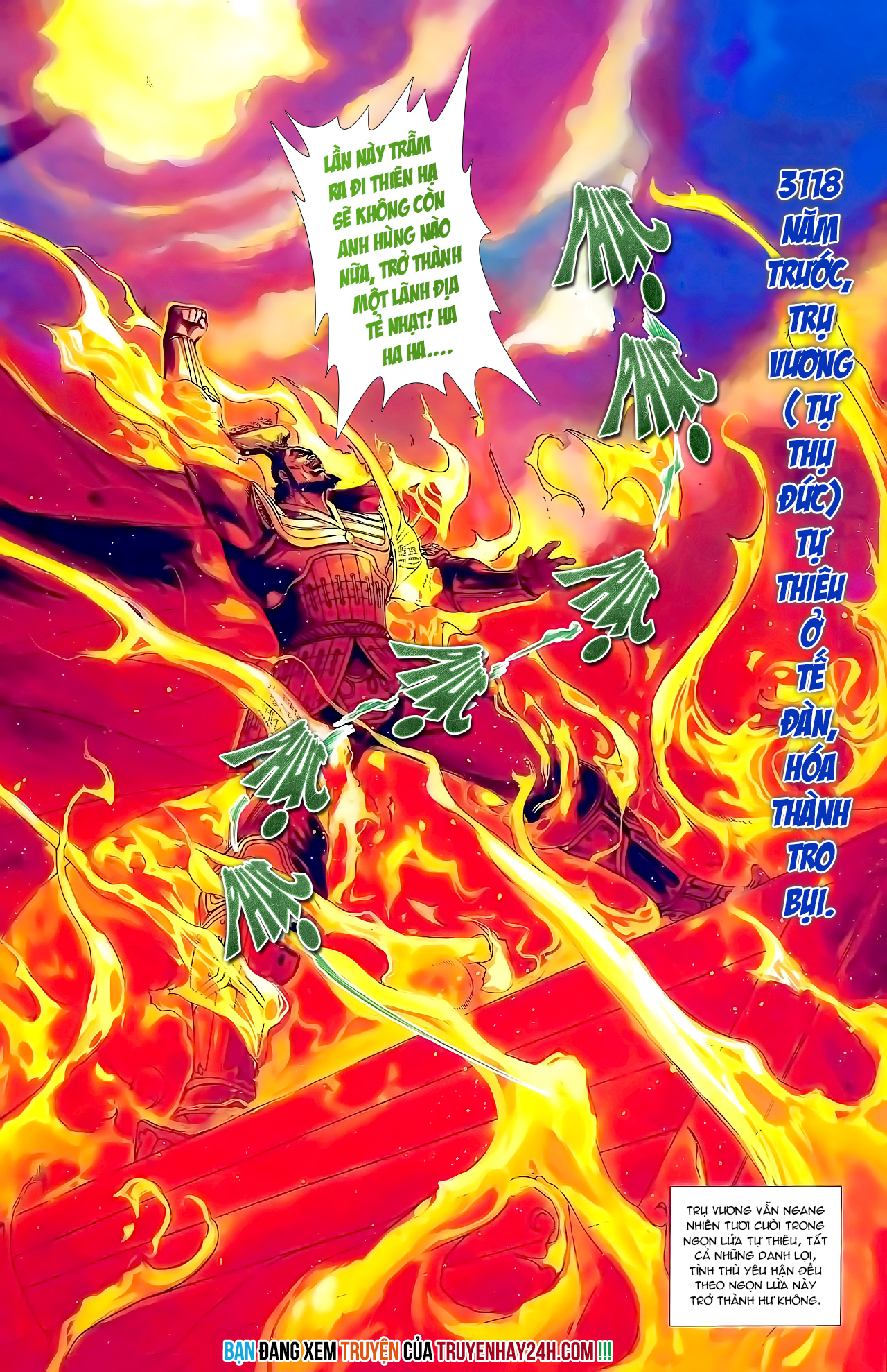 Cơ Phát Khai Chu bản Chap 163 - Trang 34