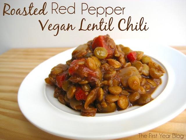 Texas Rebel Girl: Vegan Red Lentil Chili