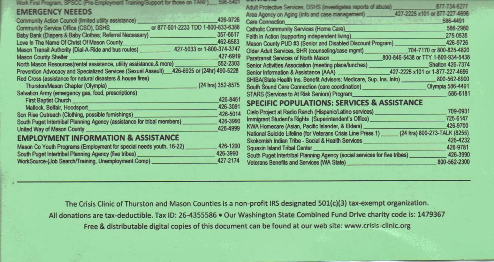 Rainier Lions Club Thurston Amp Mason County Community