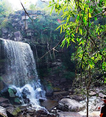 beautiful falls in cambodia