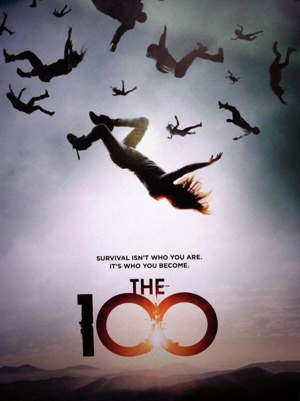 The 100 - AFFICHE / visual / série