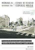 Presentación de propuesta arquiectónica para la rehabilitación de la Plaza del Poeta Leopoldo de Lu
