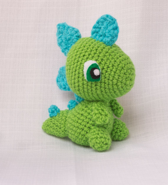 Crochet Dinosaur : That Hapa Chick: Kawaii Monday: Dinosaur Amigurumi
