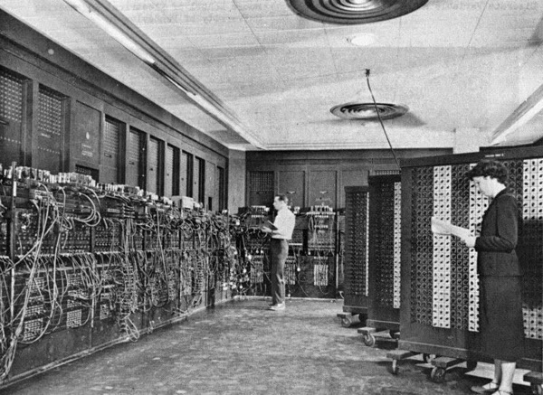 Ultimate Collection Of Rare Historical Photos. A Big Piece Of History (200 Pictures) - ENIAC