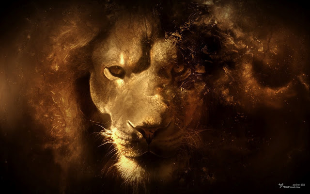 Wallpaper Leão