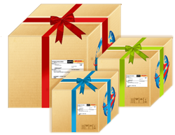 sending christmas parcels, christmas parcel rush, send parcels for christmas