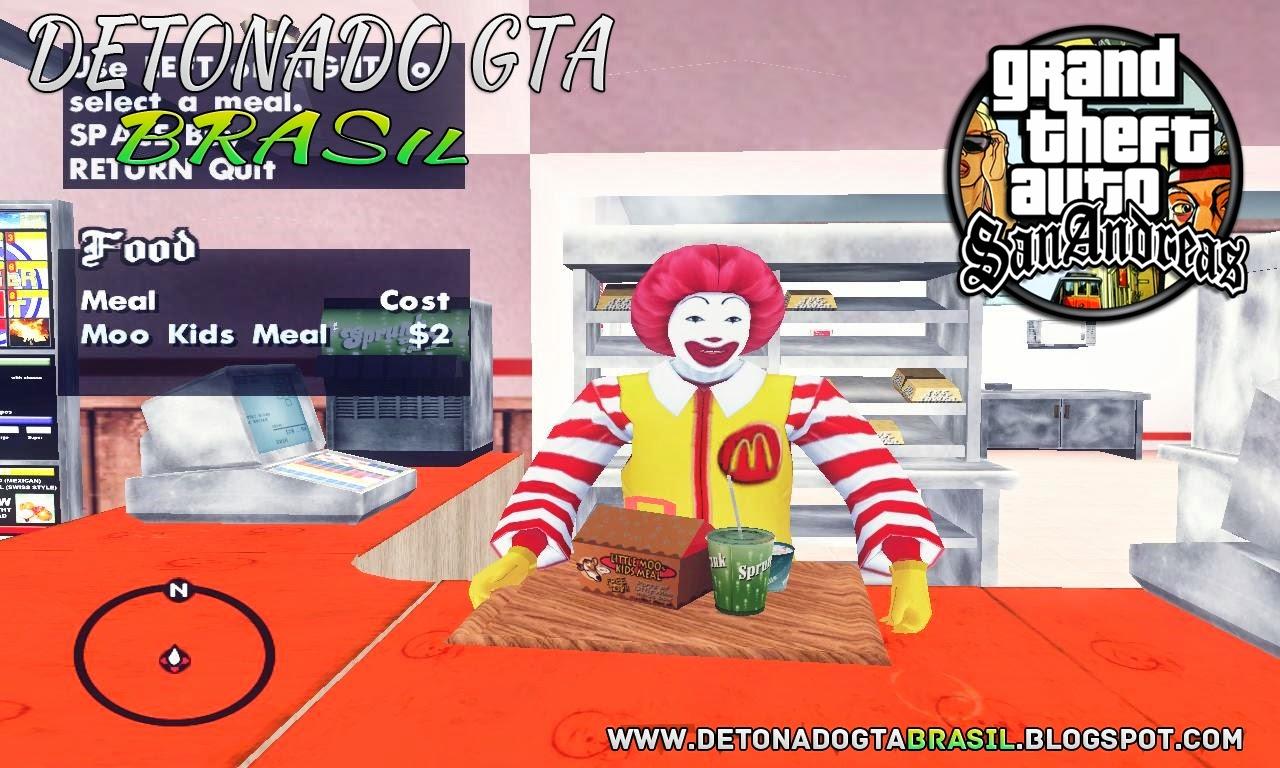 GTA SA - Nova Vendedores de alimento Mod