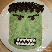We made this Hulk Dinner a long time ago and we thought since the new .
