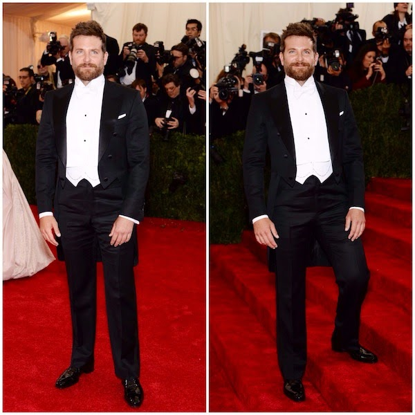 Bradley Cooper in Tom Ford - METGALA 2014 #METGALA