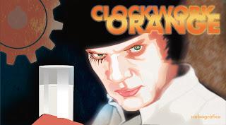 la naranja mecanica,ilustracion y diseño en sevilla,ilustración  editorial,ilustrador sevillano
