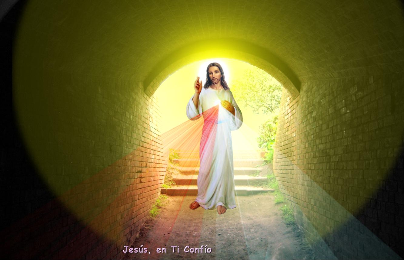 jesus en cueva echa por el hombre