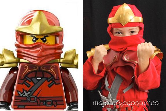 & Kai (red) Ninjago Costume Tutorial