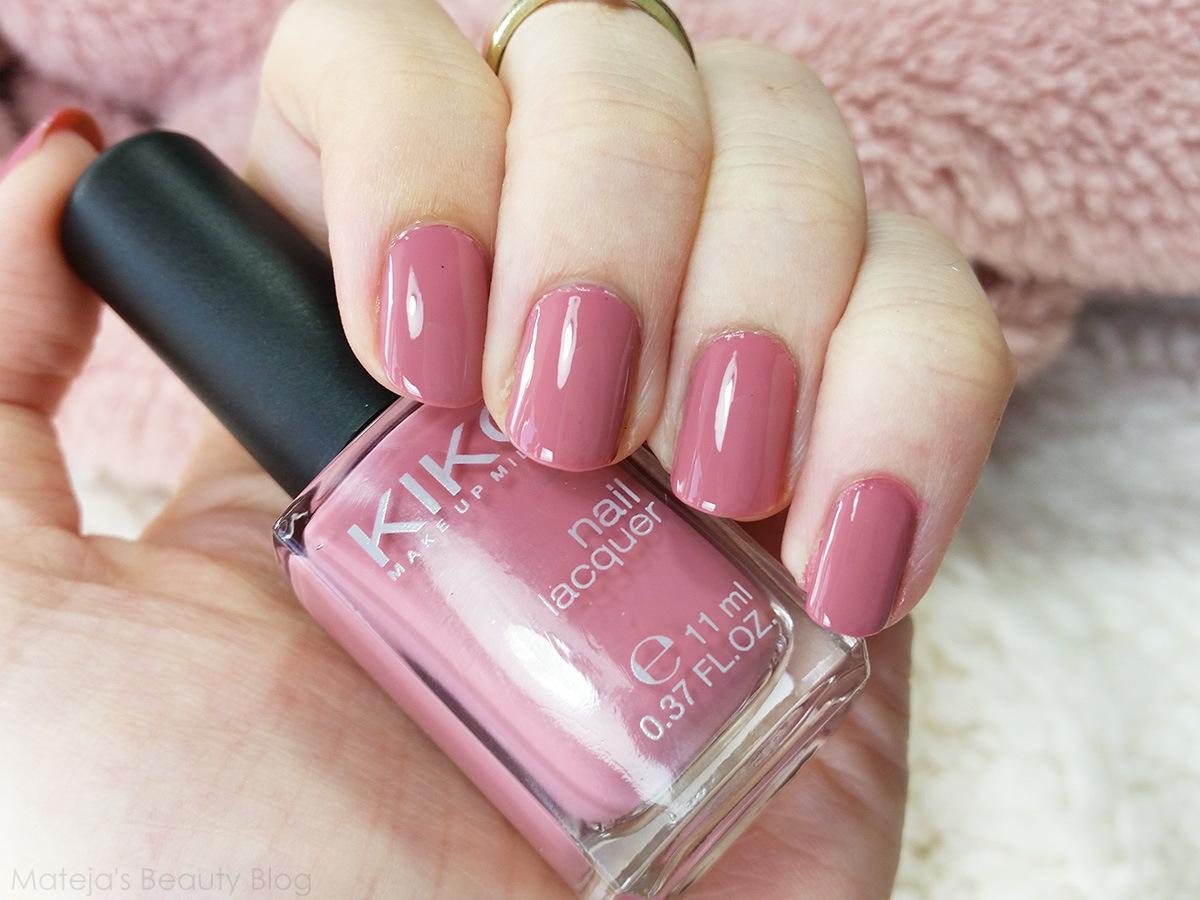 Kiko Nail Lacquer 375 Bois de Rose | Mateja\'s Beauty Blog | Bloglovin\'