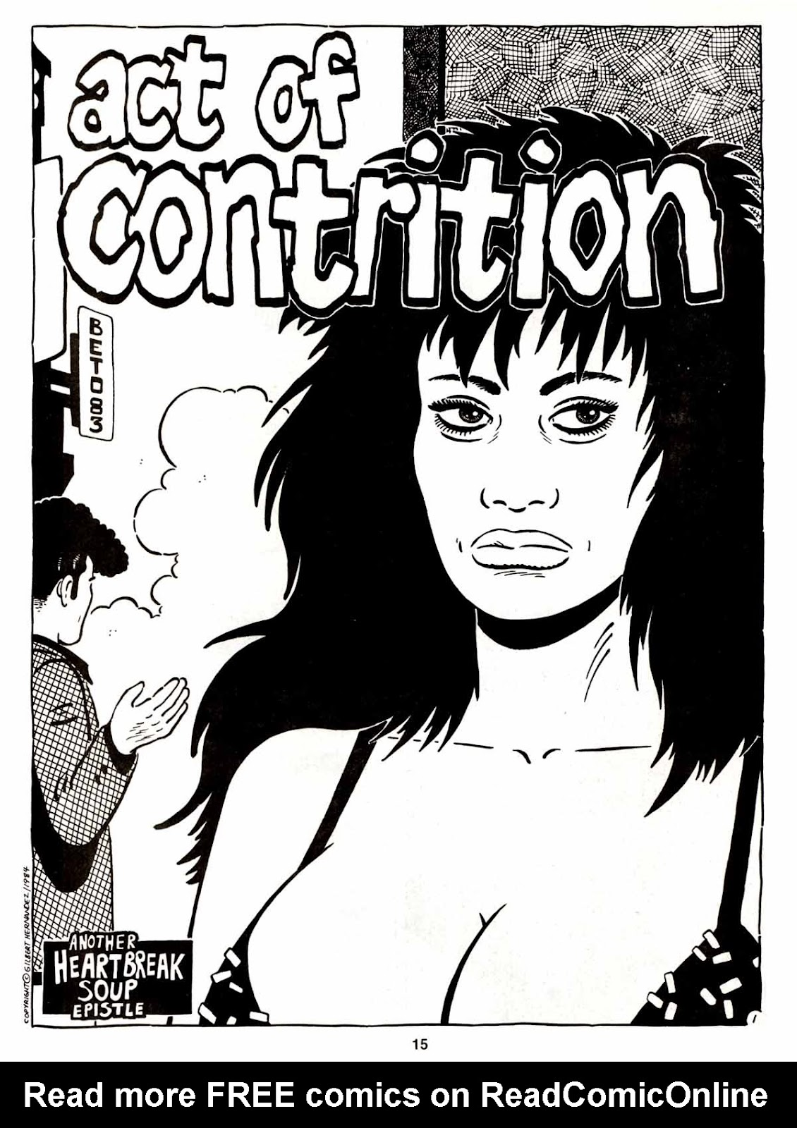 Love and Rockets (1982) Issue #5 #4 - English 17