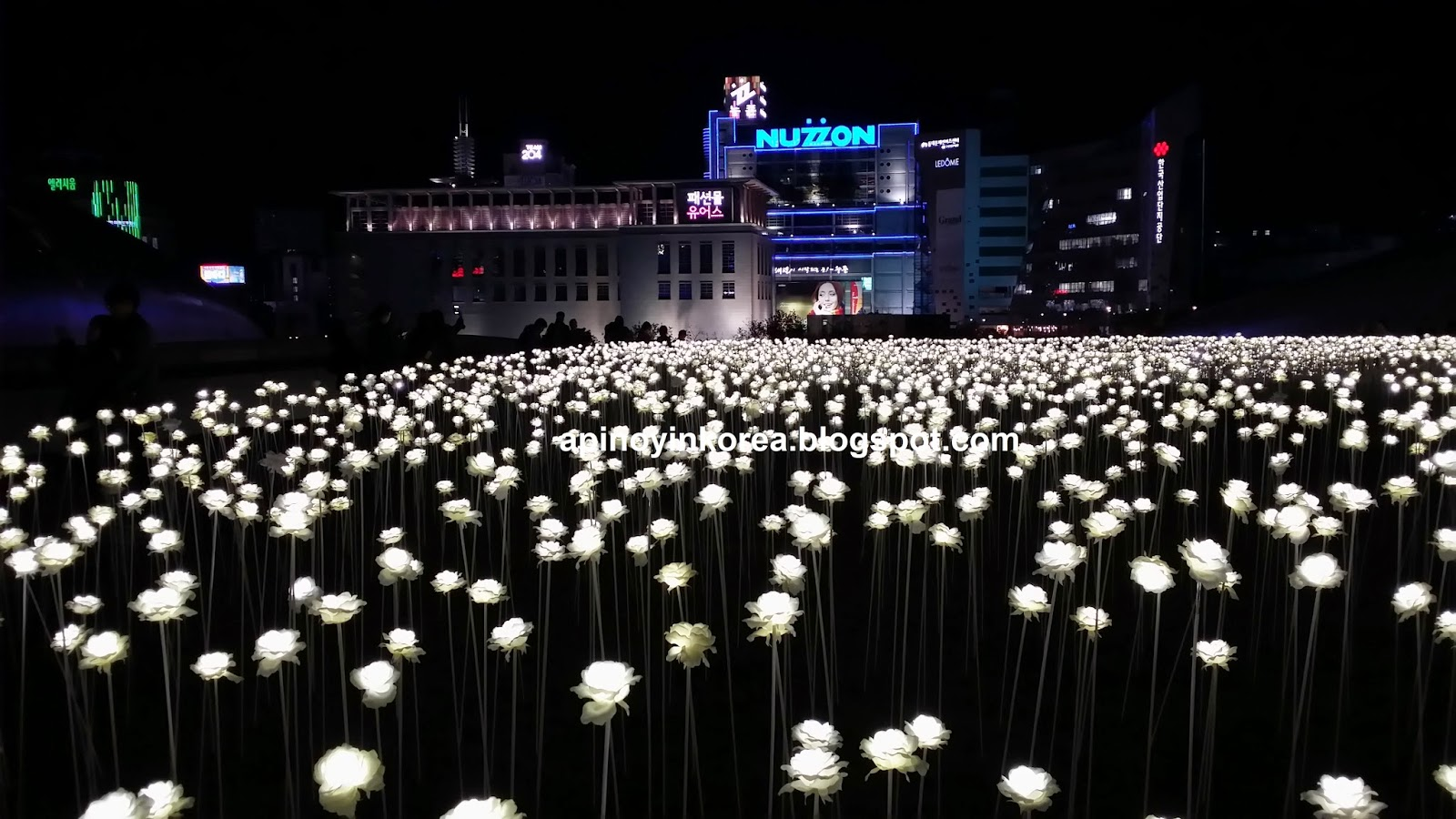 A Pinoy In Korea Dongdaemun S 20 000 White Flowers A