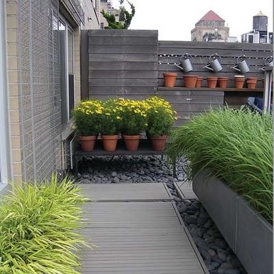 Making a terrace garden or rooftop garden ideas for Open terrace garden designs